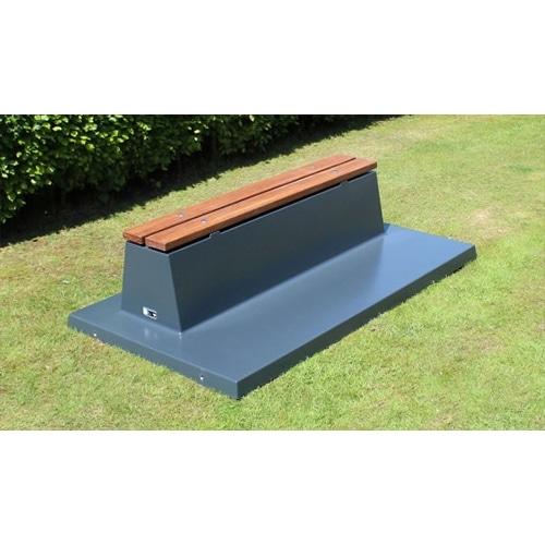 banc beton PC BB DLA OP ZL HB - BABYFOOT EXTERIEUR (OUTDOOR)
