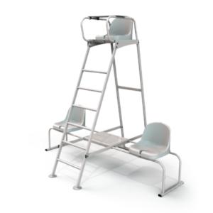 chaises laterales option 2 300x300 - PAIRE DE CHAISES LATERALES TENNIS ARBITRE  - ALU BRUT